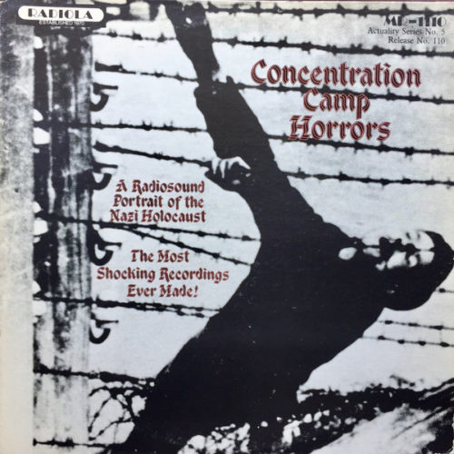 concentration camp horrors album cover